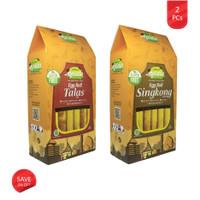 Pawon Narasa - 2 PCs Snack Gluten Free Egg Roll Talas & Singkong (Dus)