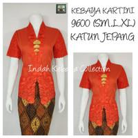 Indah Kebaya Collection 9600 Kebaya Bordir Kutubaru Floy Lengan Pendek