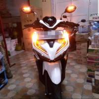 Spion Nyala Sein LED Honda Beat Vario Original Asli AHM Mirror LED