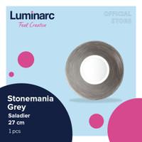 Luminarc Mangkuk Stonemania Grey - Saladier 27 - 1pcs
