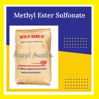 MES Flake Texapon Nabati Surfaktan Bahan Sabun Deterjen 1 KG