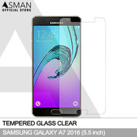 Tempered Glass Samsung Galaxy A7 (2016)   Anti Gores Kaca - Bening