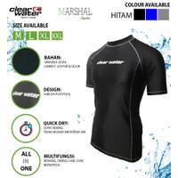 Clear Water Baju Renang Diving Atasan Pria MS011 - Hitam, L