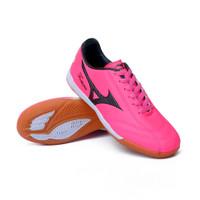 sepatu futsal mizuno warna hitam pink premium sz 39-44 import