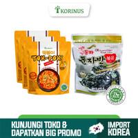 Paket Hemat Buy 3 Tokpoki + Ock Dong Ja Seaweed Flakes