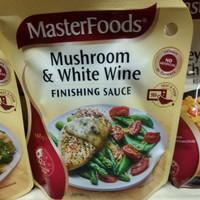 masterfoods mushroom & white wine finishing sauce 175gr
