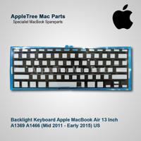 Backlight Keyboard Apple MacBook Air 13 A1369 A1466 (2011-2015) US