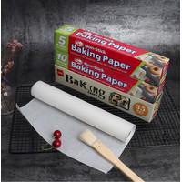 Baking Paper Kertas Baking Kertas Roti Alas Roti Silicone Oil Paper
