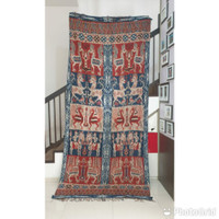 kain tenun sumba timur ntt motif kambera kombinasi 26