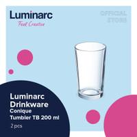 Luminarc Gelas Conique - Tumbler Tb 200 ml - 2pcs