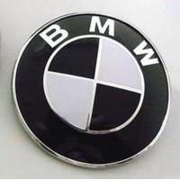 Emblem BMW 82mm Kap Mesin Bagasi Hitam Putih 1 Piece