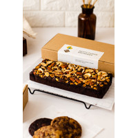Nutty Fudge - Chocolate Brownies Cokelat Krakakoa (whole)