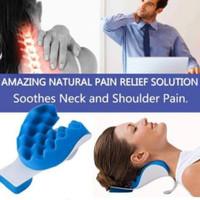 Bantal Terapi Pijat Tulang Leher / Travelling Pillow Leher Anti Pegal