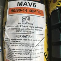 MAXXIS 90/90-14 MAV6 BAN MOTOR MATIC BELAKANG RING 14