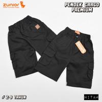 Celana Pendek Cargo Anak by Zunior - Hitam, M