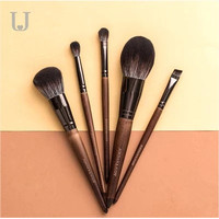 Xiaomi J&J Makeup Brush Set Kuas Eyeshadow Kosmetik Make Up 5pcs