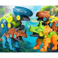 Mainan Edukasi Anak DIY Dinosaurus Bongkar Pasang