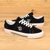 Sepatu Vans Sid DX Anaheim Factory OG Black White UNISEX
