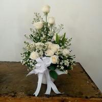Bunga meja hias rangakaian bunga hadiah anniversary