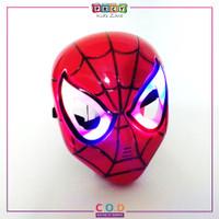 Topeng Spiderman Bisa Nyala Topeng Kostum Superhero Spiderman TM481