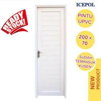 Pintu Kamar Mandi UPVC Icepol / Pintu Kamar Mandi / Pintu Toilet