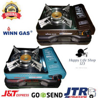 Kompor Portable Winn Gas W2WS/Kompor Gas Portable 2 Fungsi