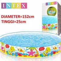 kolam renang anak intex 56451 tanpa ditiup/pompa