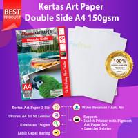 Kertas Art Paper A4 150gsm isi 50 Lembar Photo Paper 150 Gram 50 Sheet
