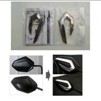 Garnish spion back mirror accessories Honda Vario new 125 150 esp LED