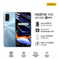 REALME 7 PRO - 8GB 128GB 8/128 - NFC - 65W SuperDart GARANSI RESMI - Mirror Silver