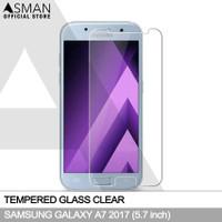 Tempered Glass Samsung Galaxy A7 (2017)   Anti Gores Kaca - Bening