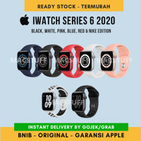 Apple iWatch Series 6 2020 40mm 44mm Blue Black White Pink Red S6 Nike
