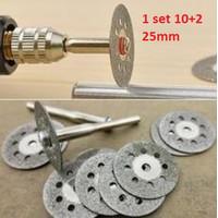 Rotary Cutting Disk Mini Grinder Set Mata Gerinda Potong Diamond