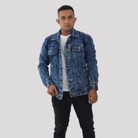 Emoline - Jaket Jeans Pria