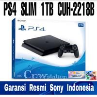 PS4 slim 1tb jetblack 2218b