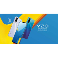 Smartphone Vivo Y20 Ram 3 Rom 64GB