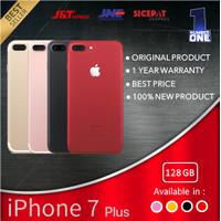 IPHONE 7 PLUS 128 128GB GARANSI 1 TAHUN TERMURAH BLACK GOLD RED SILVER