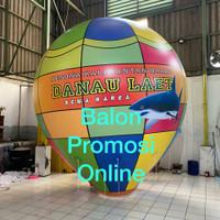 balon selfie balon hot air display diameter 3m