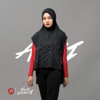 Hijab Olahraga - REYD Agni for Tantri Syalindri - Black