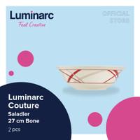 Luminarc Mangkuk Couture - Saladier 27 Bone - 2Pcs
