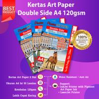 Kertas Art Paper A4 120gsm isi 50 Lembar Photo Paper 120 Gram 50 Sheet
