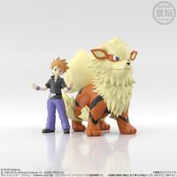 Pokemon Scale World Green & Arcanine Premium Bandai Limited