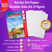 Kertas Art Paper A4 210gsm isi 20 Lembar Photo Paper 210 Gram 20 Sheet