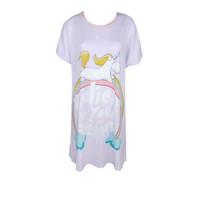 Young Curves CW Microfiber Sleep Dress C01-P00872PPE