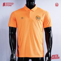 Polo Shirt Timnas Indonesia MILLS Orange