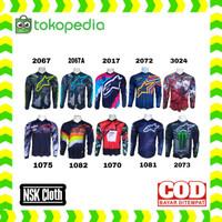 Kaos jersey sepeda baju jersey sepeda gunung bmx motocross 1075