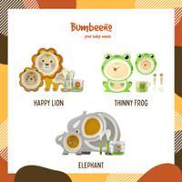 [Bumbeeno] Bamboo Fiber Feeding set/Kids Tableware Type E