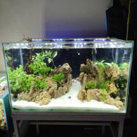 SOLD Aquarium Full Set Aquascape 60 P