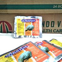 Tetelo Plus 10 Kapsul - Obat Anti Kena Tetelo Ndv Ayam Pilek Ngorok Nd