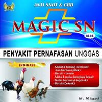Magic SN anti snot dan crd (penyakit pernapasan unggas)